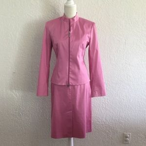THE LIMITED pink suit, Blazer and skirt. Size 4